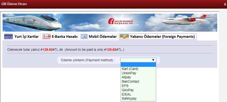Yabancı ödemeler (foreign payments) nasıl yapılır