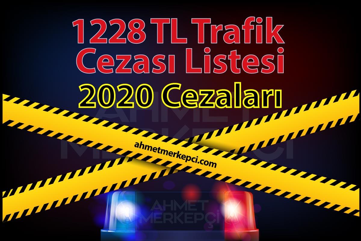 Yeni 1228 tl Trafik Cezası