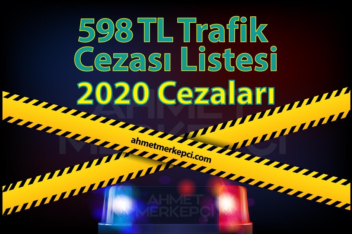 Yeni 598 tl Trafik Cezası