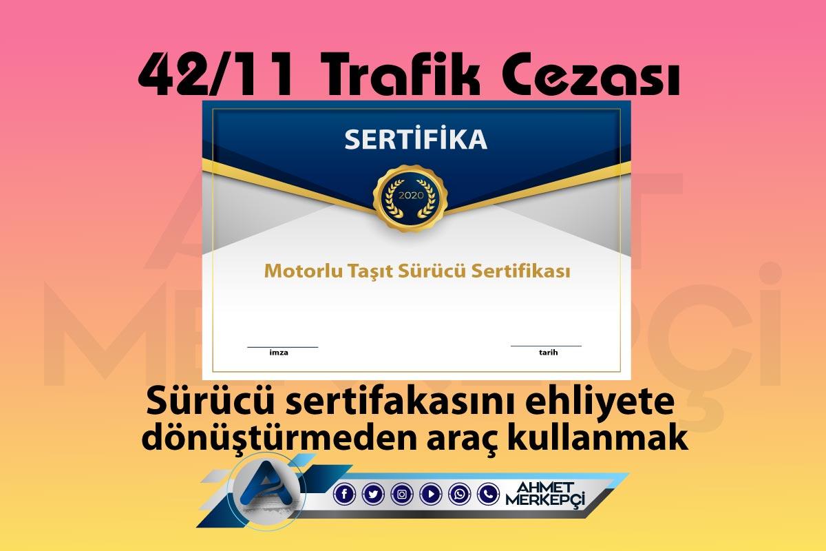 42/11 Trafik Cezası Nedir? Nasıl İtiraz Edilir?
